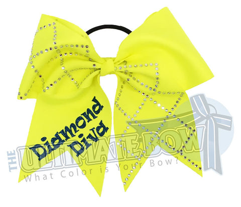 diamond-diva-ansi-yellow-neon-glitter-rhinestone-softball-hair-bow