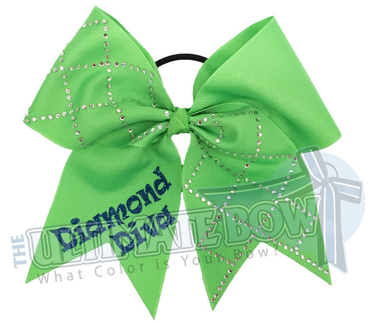 diamond-diva-neon-green-blue-glitter-rhinestone-softball-hair-bow