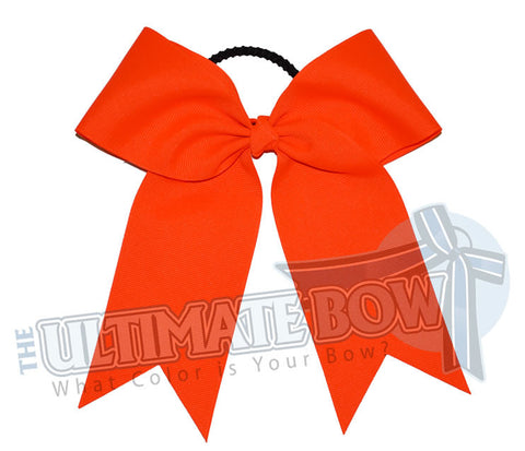 Essentials-basic-plain-neon-orange-cheer-bow