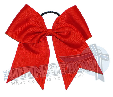 Plain-red-cheer-bow-superior-big