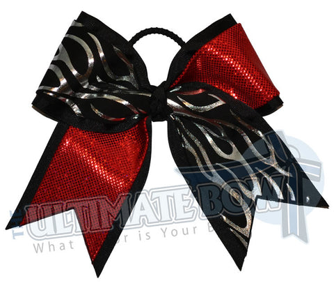 Fire and Ice | Mystic Flames Cheer Bow
