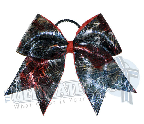 Red-silver-black-superior-explosion-cheer-bow