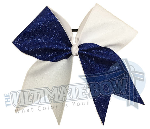 Full On Glitter Splits Cheer Bow | Tick Tock Cheer Bow