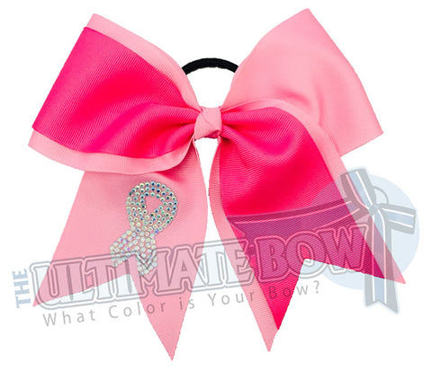 Game-On-rhinestone-awareness-cheer-bow-softball-bow-breast-cancer-ribbon-raise-awareness-think-pink