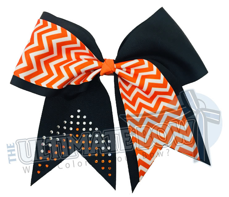 chevron-rhinestone-cheer-bow-game-bow-varsity-football-sparkle-orange-black