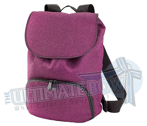 The Ultimate Bow - Glitter Back Pack