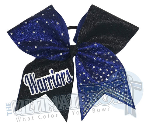 Glitter Squad Cheer Bow | Cheerleading Hair Bow