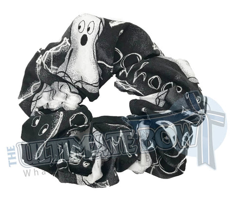 Halloween Scrunchies | Glowing Ghost scrunchies | Team Halloween Scrunchies | Glow in the Dark Scrunchies | Cheer Scrunchies | Gymnastics Scrunchies