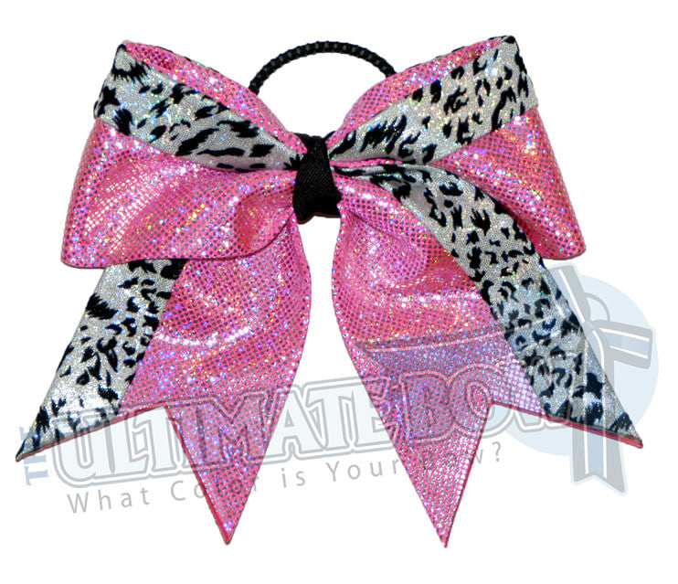 graceful-leopard-cheer-bow-hot-pink-white-snow-leopard