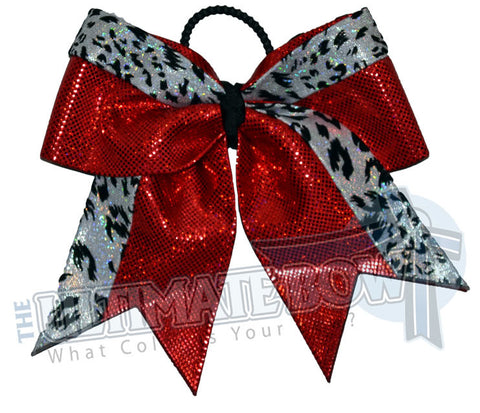 graceful-leopard-cheer-bow-red-white-snow-leopard