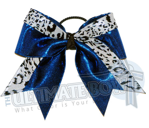 graceful-leopard-cheer-bow-royal-blue-white-snow-leopard