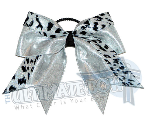 graceful-leopard-cheer-bow-silver-white-snow-leopard