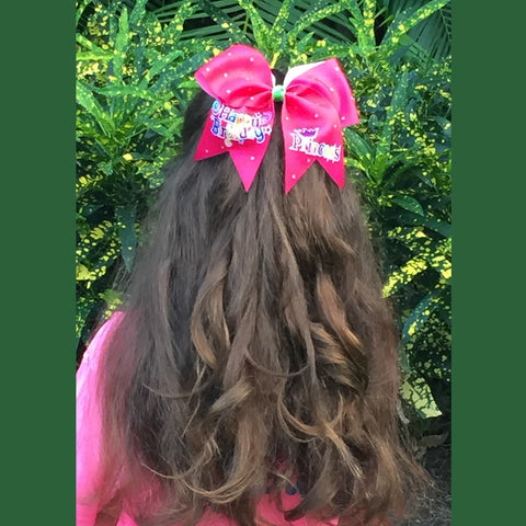 Happy-Birthday-Princess-cheer-bow-pink-birthday-bow-birthday-hair-bow-softball-volleyball-girl-hair-bow