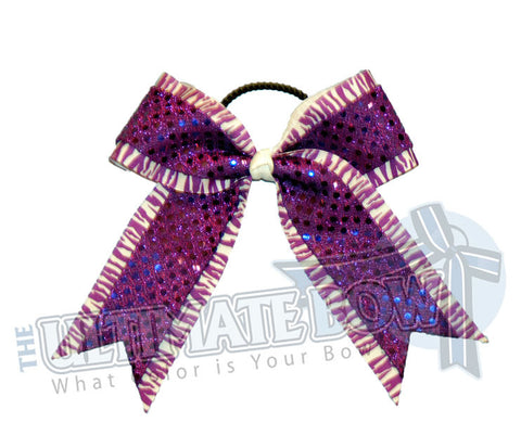 imperial-zebra-purple-sequins-cheer-bow