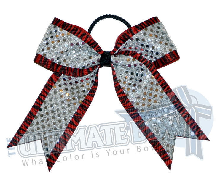 imperial-zebra-red-silver-sequins-cheer-bow