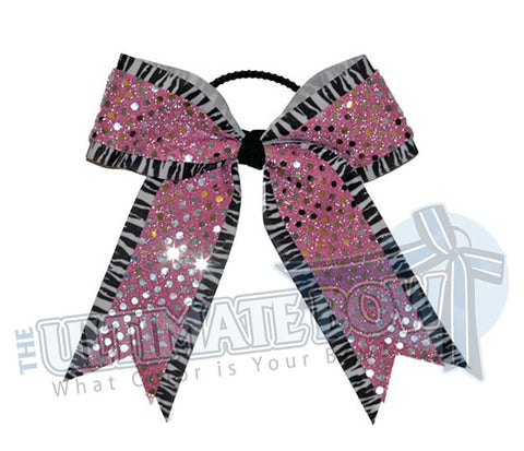 imperial-zebra-pink-sequins-cheer-bow