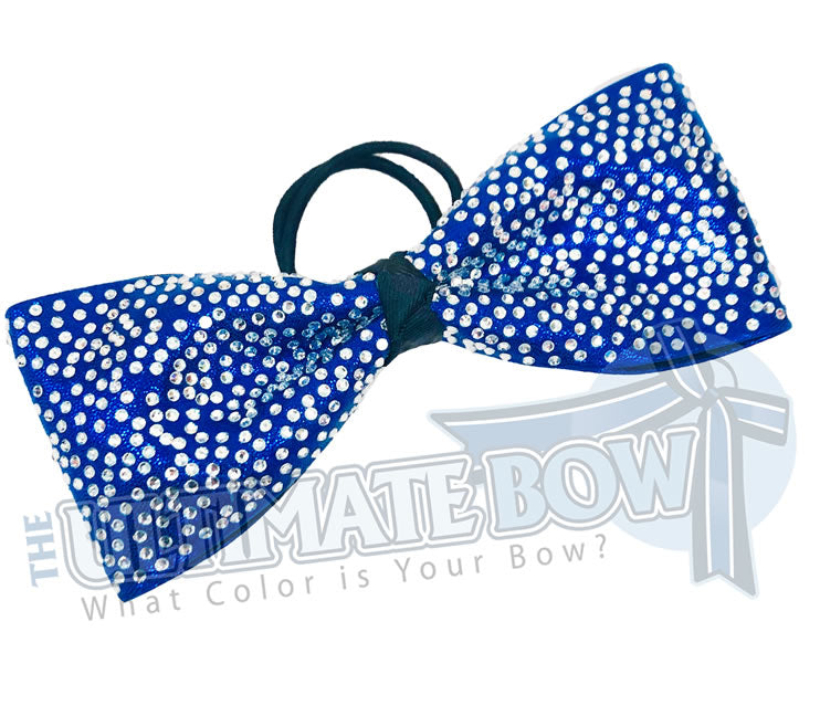 tailless cheer bow | superior-rhinestone-Just-Loops-all-Loops-cheer-bow-royal-blue-mystic-crystal-rhinestone-cheer-bow