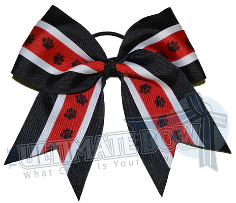 mighty-roar-paw-print-ribbon-cheer-bow-black-red-white