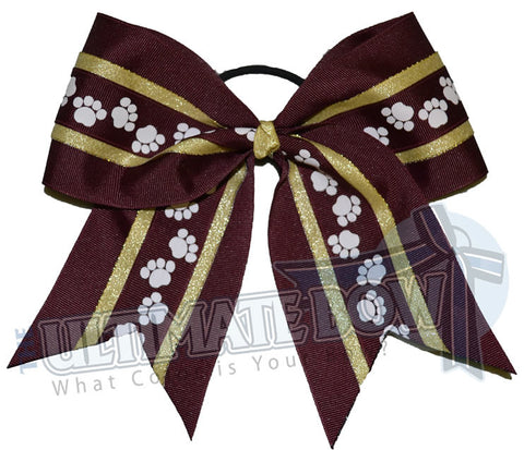 mighty-roar-paw-print-ribbon-cheer-bow-maroon-gold-white