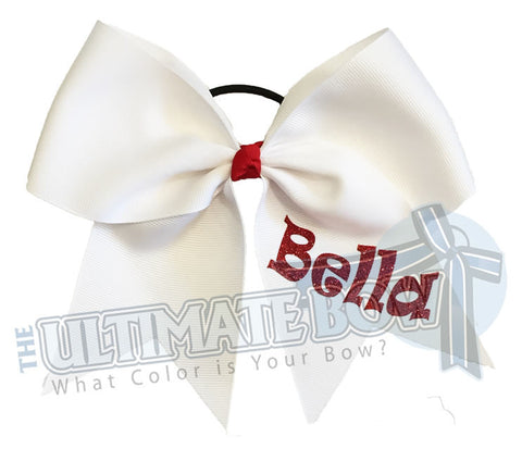 personalized-cheer-bow-my-bow-white-red-glitter-softball-bella
