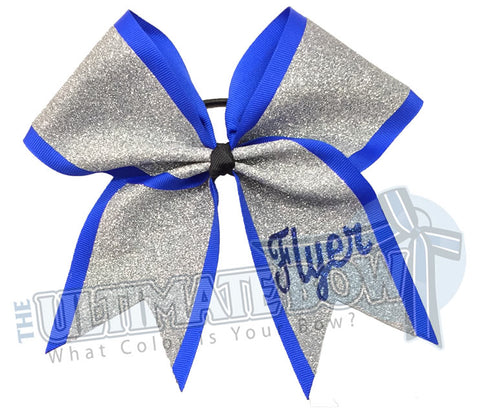 My Ultimate Glitter Bow - Cheer Bow | Personalized Cheer Bow