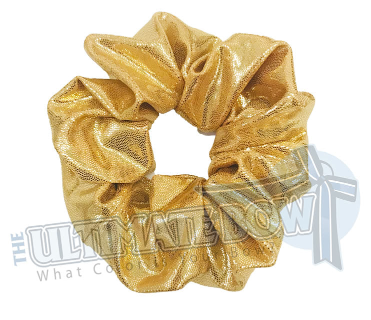 metallic srunchies | Mystic Scrunchies | Mystique Material Scrunchies | Cheer Scrunchies | Gymnastics Scrunchies