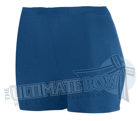 Ladies-Spandex-spanks-boy-cut-shorts-navy-1210-Augusta-Sportswear-cheerleading-softball-soccer-volleyball-workout