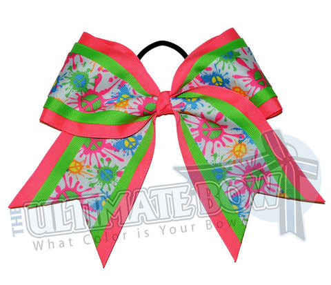 neon-peace-cheer-bow-neon-pink-green