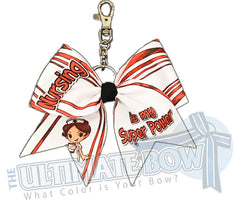 Nursing is my Super Power Key Chain Bow | Nursing Keychain Bow | Nursing Professional | RN