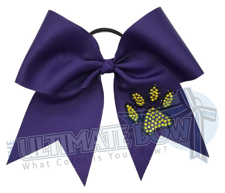 superior-rhinestone-paw-print-black-citrine-crystal-cheer-bow-oconomowoc-varsity-cheer
