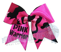 Superior-pink-Warrior-sparkle-pink-ribbon-breast-cancer-awareness-glitter-cheer-bow-pink-camo