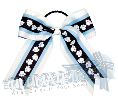 playful-paw-print-ribbon-cheer-bow-navy-blue-copen-white