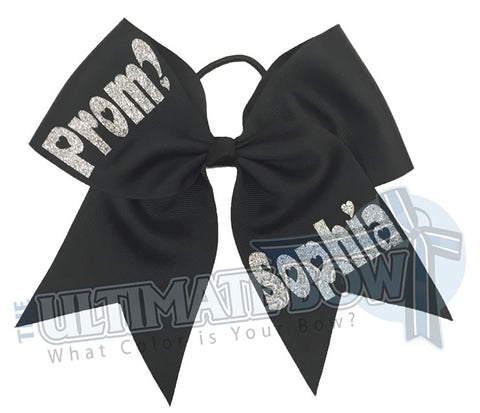 Prom Please Cheer Bow