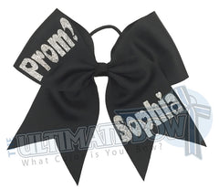 Prom-Please-Big-Dance-Go-To-Prom- HOCO-Homecoming-ask a girl to the dance- black-silver