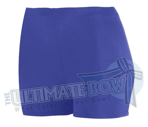 Ladies-Spandex-spanks-boy-cut-shorts-purple-1210-Augusta-Sportswear-cheerleading-softball-soccer-volleyball-workout