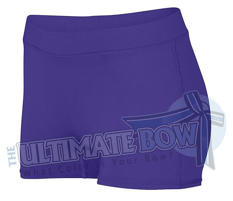 Ladies-Dare-Spandex-spanks-boy-cut-shorts-purple-1232-Augusta-Sportswear-cheerleading-softball-soccer-volleyball-workout