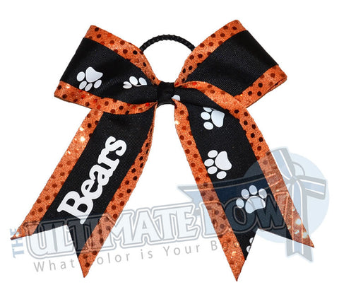 Put Your Paws Up | Personalized School Bow