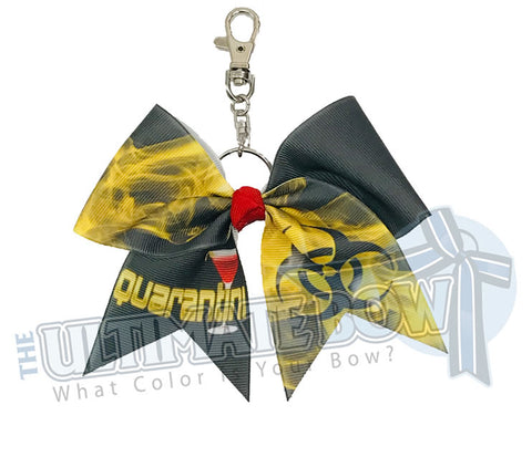 Quarantini Key Chain Bow | Mom Key Chain Bow
