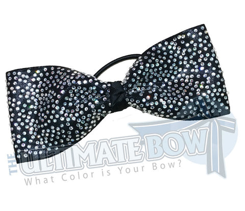 superior-rhinestone-Just-Loops-all-Loops-supreme-cheer-bow-black-mystic-crystal-rhinestone-cheer-bow