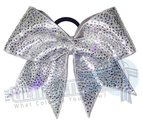 Superior Rhinestone Penthouse Cheer Bow | Rhinestone Cheerleading Bow