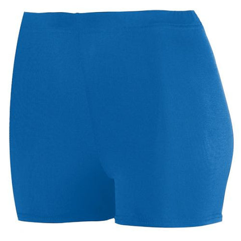 Ladies-Spandex-spanks-boy-cut-shorts-royal-blue-1210-Augusta-Sportswear-cheerleading-softball-soccer-volleyball-workout