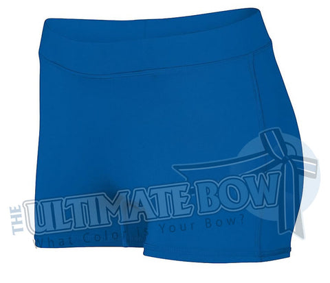 Ladies-Dare-Spandex-spanks-boy-cut-shorts-royal-blue-1232-Augusta-Sportswear-cheerleading-softball-soccer-volleyball-workout