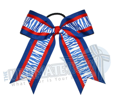 safari-zebra-stripes-cheer-bow-royal-blue-red-white