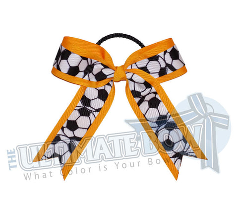 soccer-practice-game-hair-bow-yellow-gold-black-white-soccer-balls