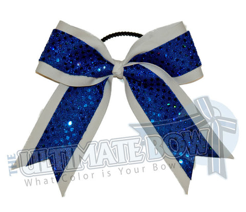 solitary-sequins-budget-cheer-bow-white-royal-blue-sequins