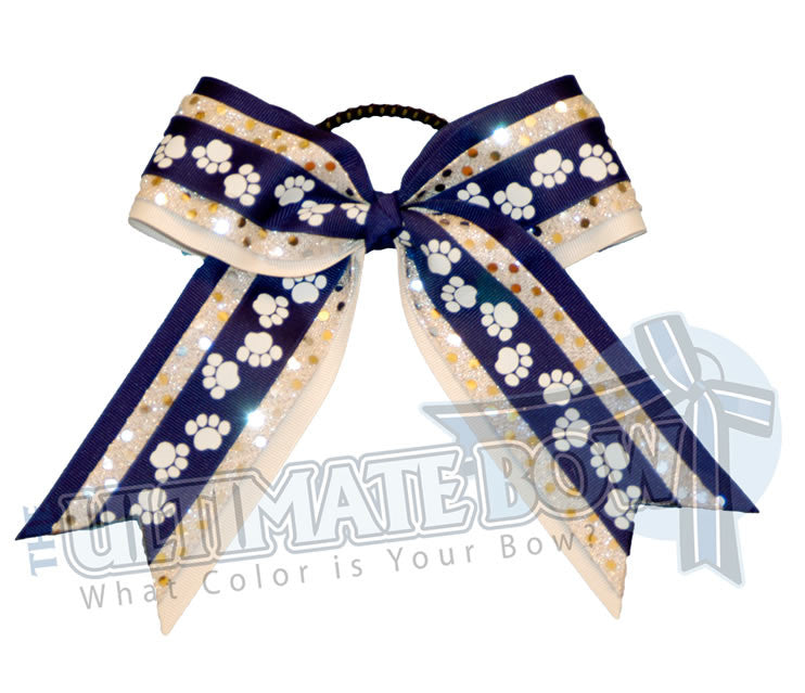 spirit-paw-print-ribbon-royal-blue-white-silver-sequins