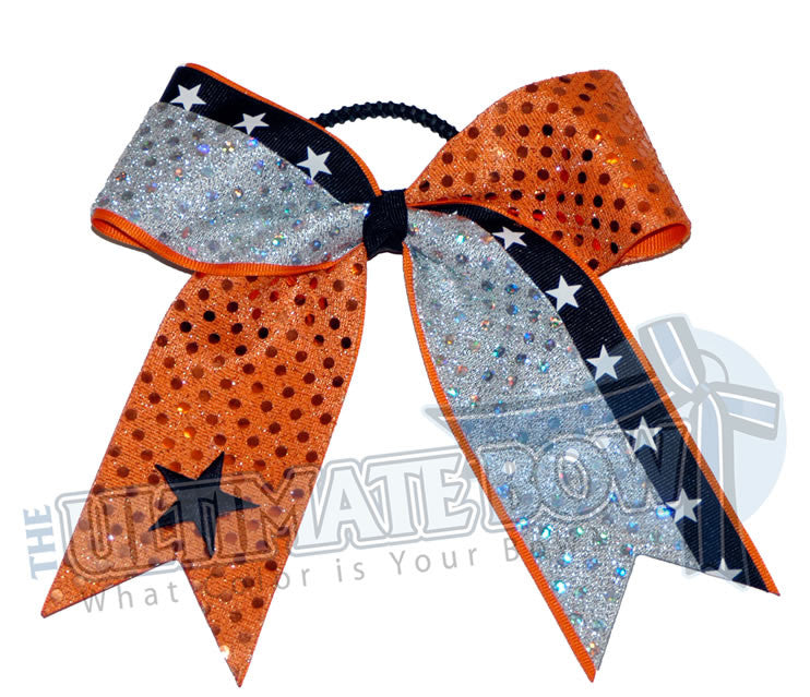 star-line-up-black-white-silver-orange-sequins-cheer-bow