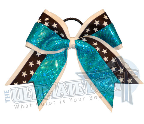 superior-star-prima-donna-turquoise-black-white-stars-cheer-bow