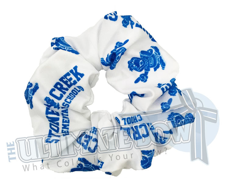 custom printed scrunchies | sublimate scrunchies | logo scrunchies