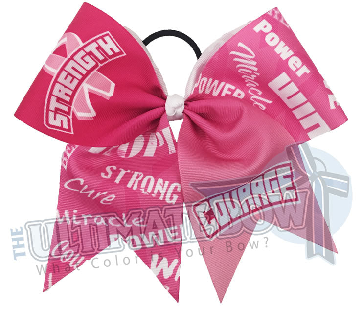 Strength courage breast-cancer-awareness-cheer-bow-softball-hot-pink-believe-support-pink-ribbon-awareness